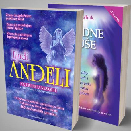 3D knjiga srodne duse ljudi andeli