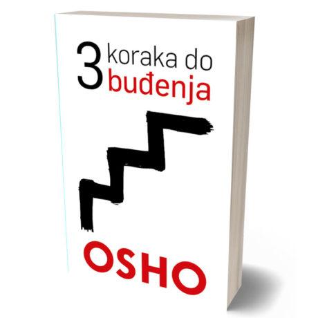 3D knjiga osho tri koraka do budjenja