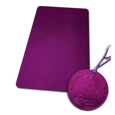 Teslina purpurna ploca mala disk